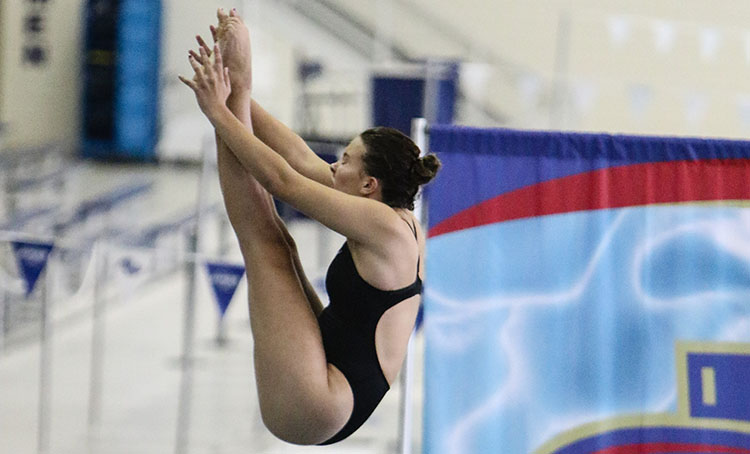 Renner dives to success