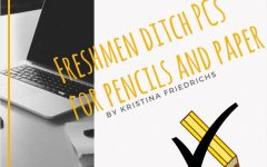 Freshmen ditch PCs for pencils and paper