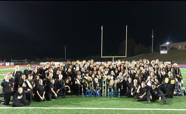 The Sequoyah band marches its way to a grand championship