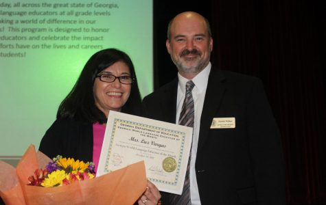 Vargas wins October's Georgia World Language Educator of the Month