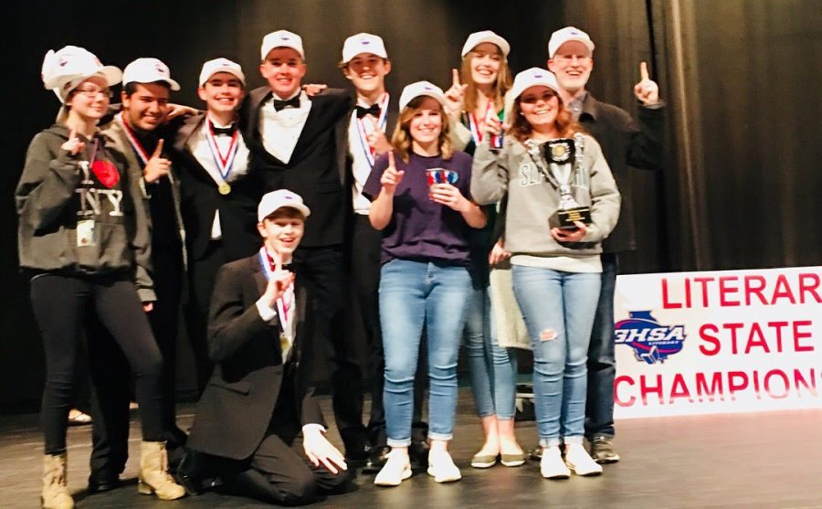 Literary team takes first place win at the state level