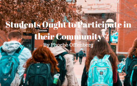Students ought to participate in their community