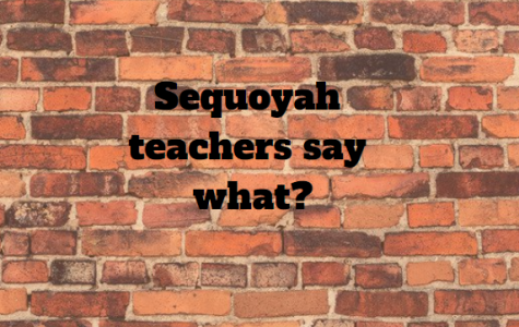 Sequoyah teachers say what?
