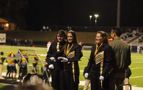 Drum majors find their beat