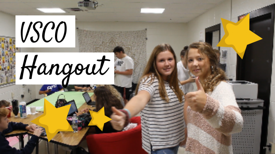 Turning the Journalism Room into a VSCO Hangout!!