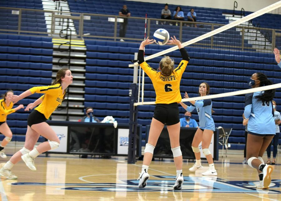 Sequoyah Volleyball makes a spike on the minor setbacks of COVID quarantines