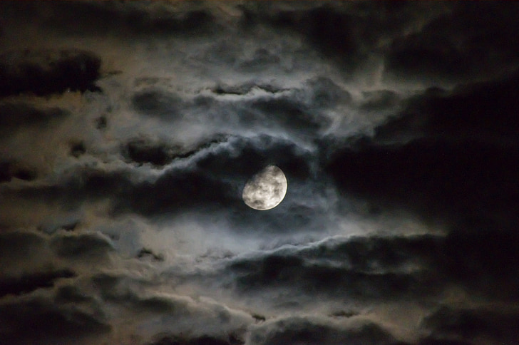Expect the unexpected: A rare blue moon will be out on Halloween
