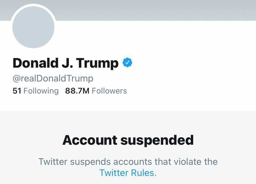 Twitter permanently bans Trump for posts that are considered violent