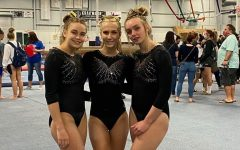The gymnastics team is composed of McKenna Sipe, Taylor Grabowski, and Payton Whitley. This year marked the team's first season in recent years.