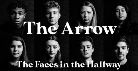 The Faces in the Hallway Print
